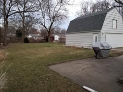 Back Yard facing out