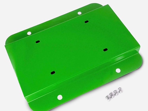 License Plate Relocation Kit, Neon Green