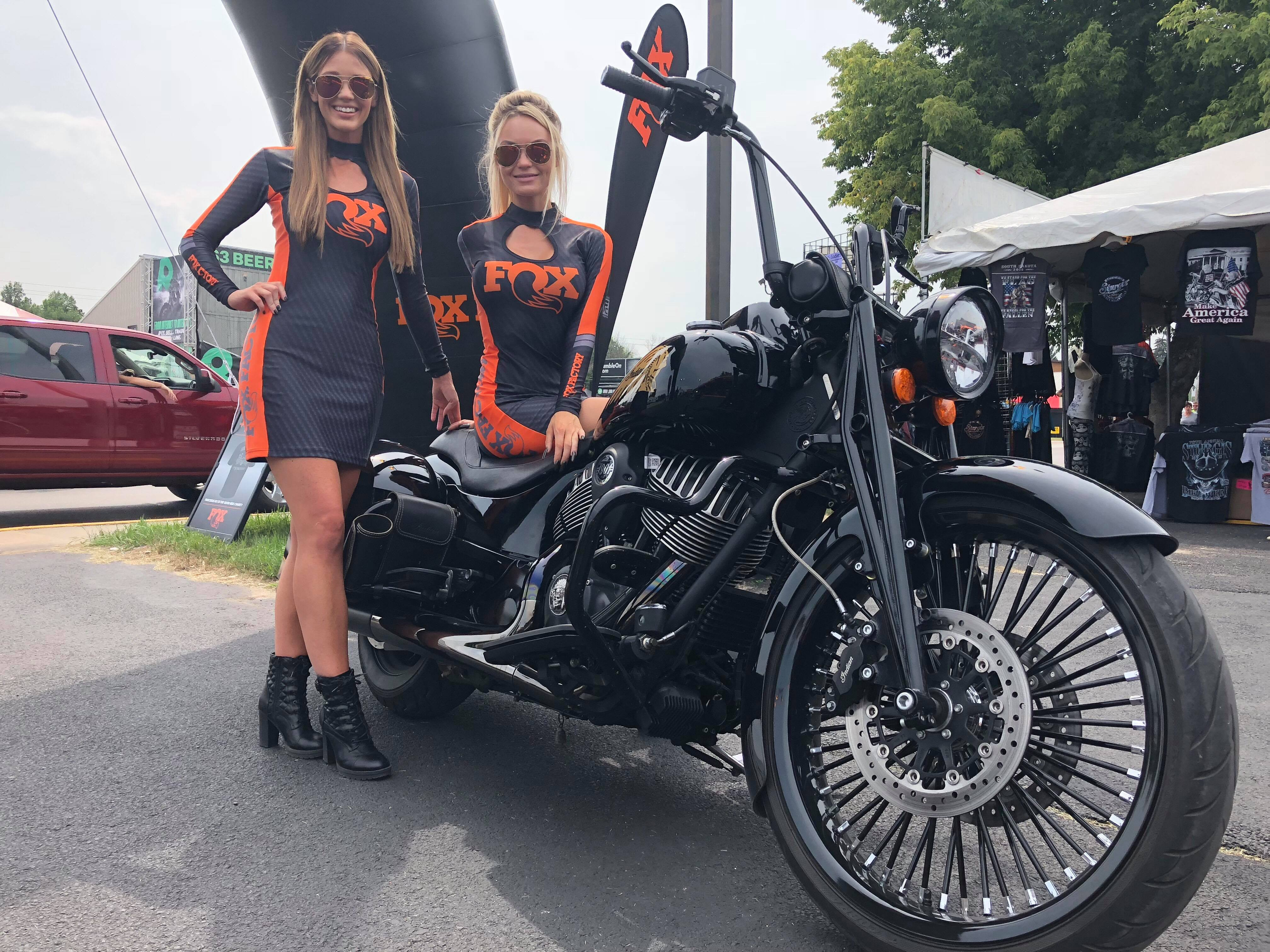 Indian Scout at Sturgis