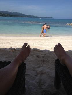 beach perspective