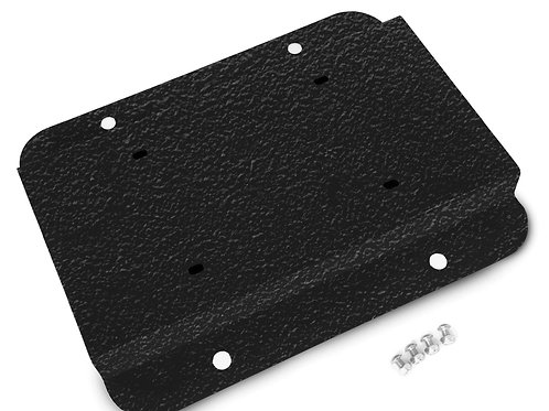License Plate Relocation Kit, Texturized Black