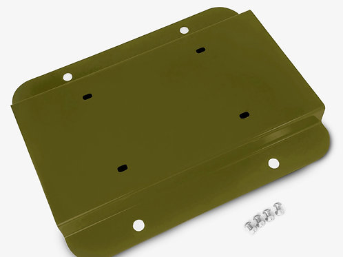 License Plate Relocation Kit, Locas Green
