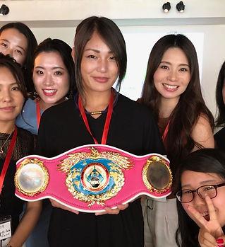 チャンピオン、吉田実代、シングルマザー、強め女子会、子供、WBO