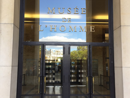Invited talk at the Musée de l'Homme in Paris