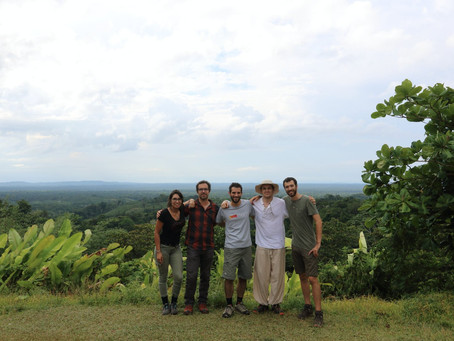 Field sequencing and conference in French Guiana