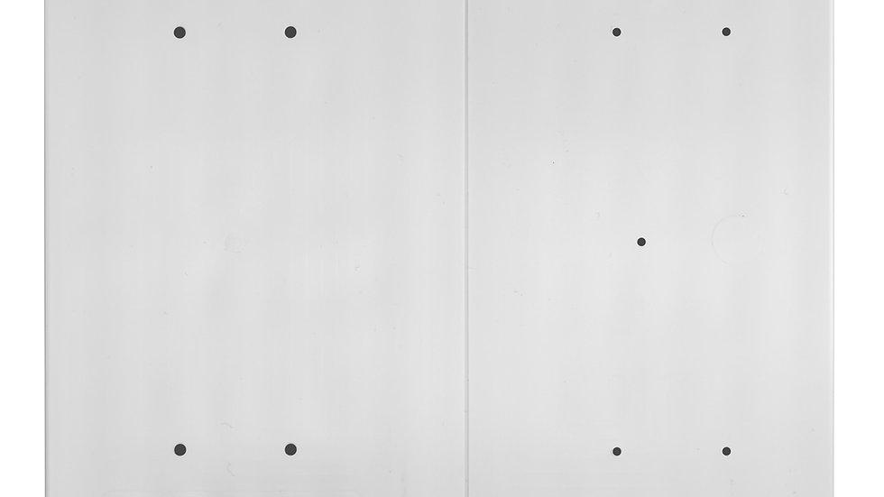 Plastic Re-breakable Breaker Board – White – 50 Break Strength