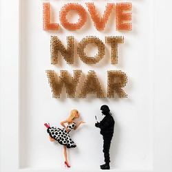 Make-love-not-war-art