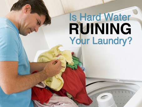 HARD WATER VS. SOFT WATER – EFFECTS ON YOUR LAUNDRY