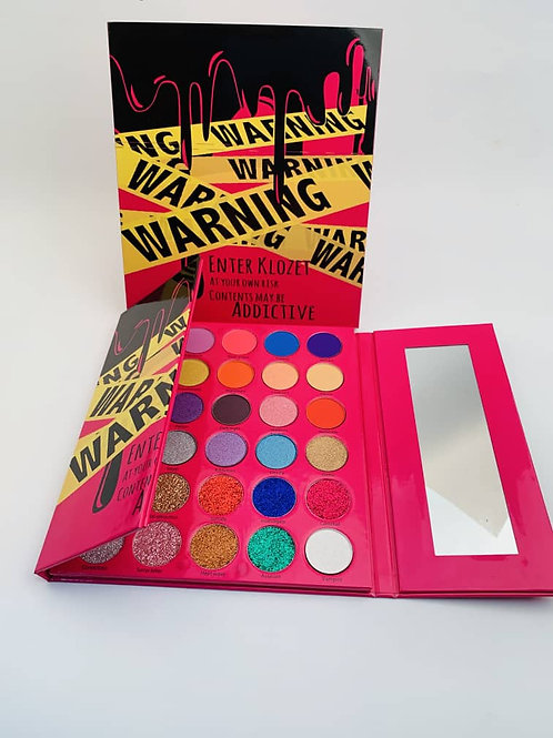 The Pink Warning Killa Palette