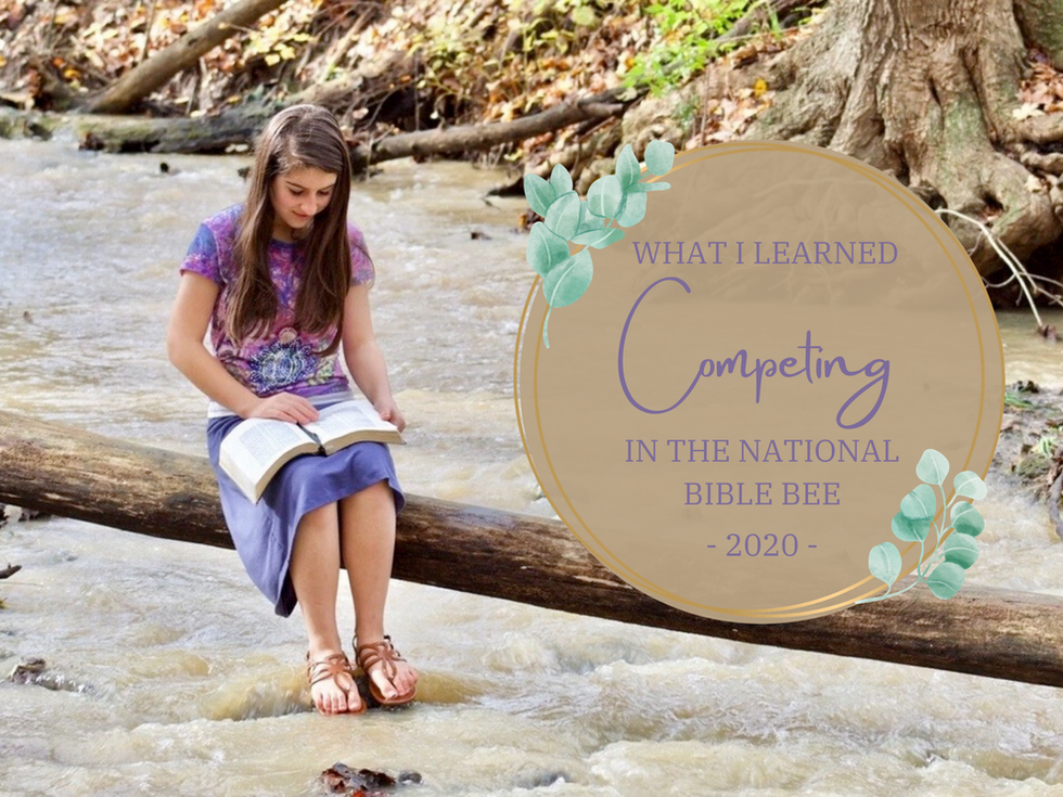 What I Learned Competing In The National Bible Bee - 2020