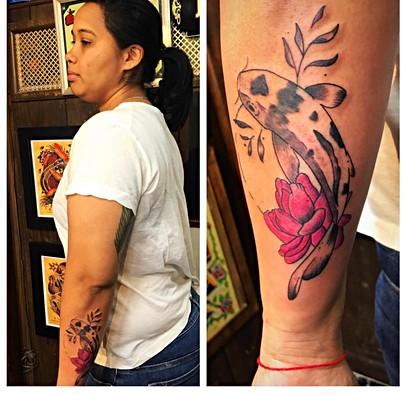 Koi Lotus Tattoo The Red Parlour Tattoo
