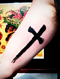 Cross Tattoo by The Red Parlour Tattoo Woodside Queens NY NY NYC Cross Tattoo Designs.jpg