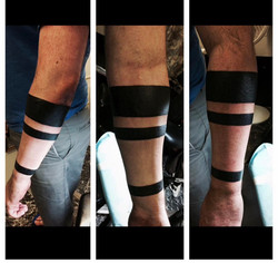 Soid Black Armband Tattoos by The Red Pa