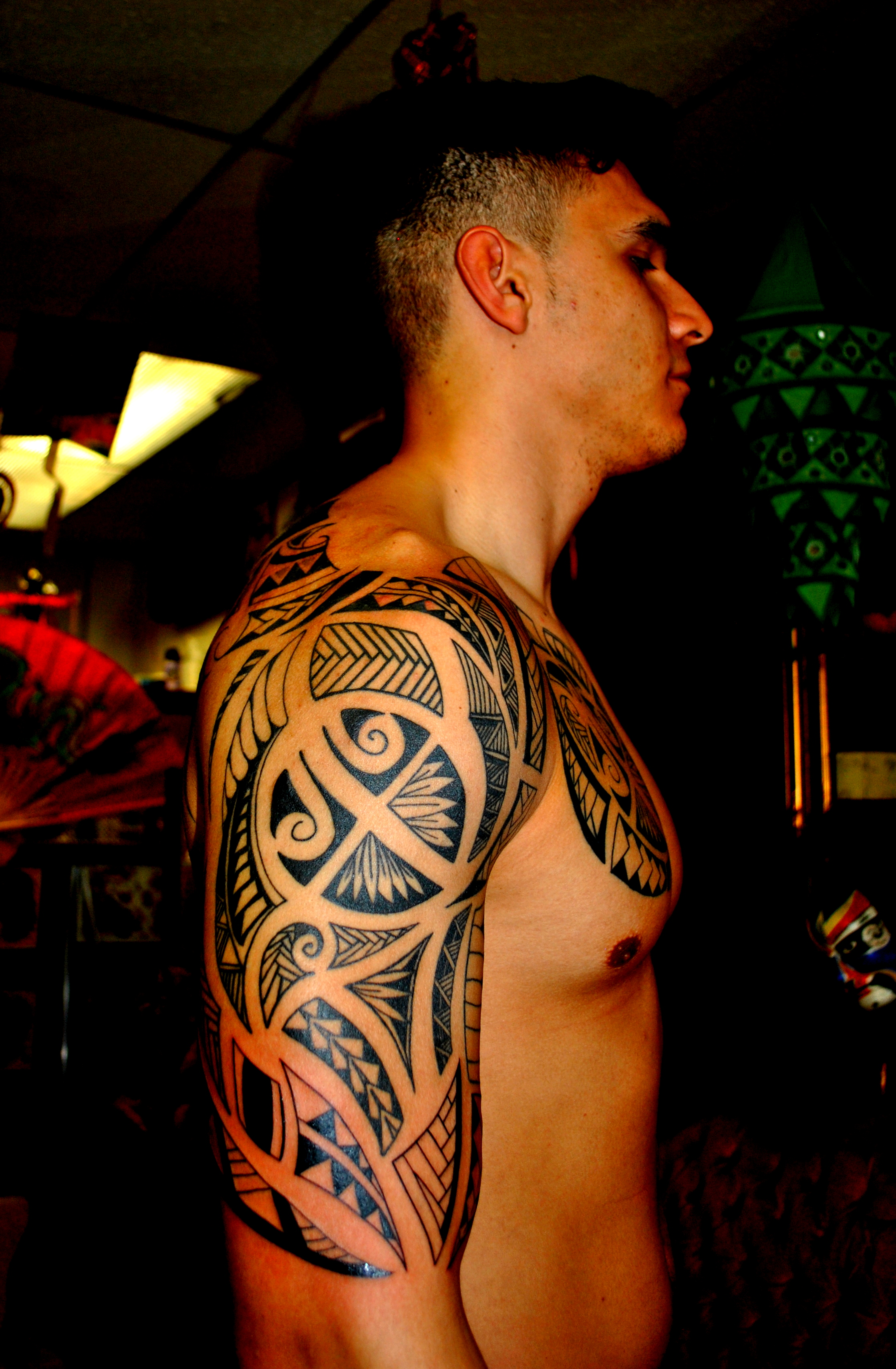 Maori & Polynesian Tattoo Designs only a