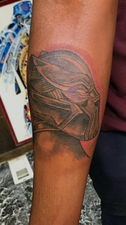 Marvel Black Panther Tattoo by The Red P