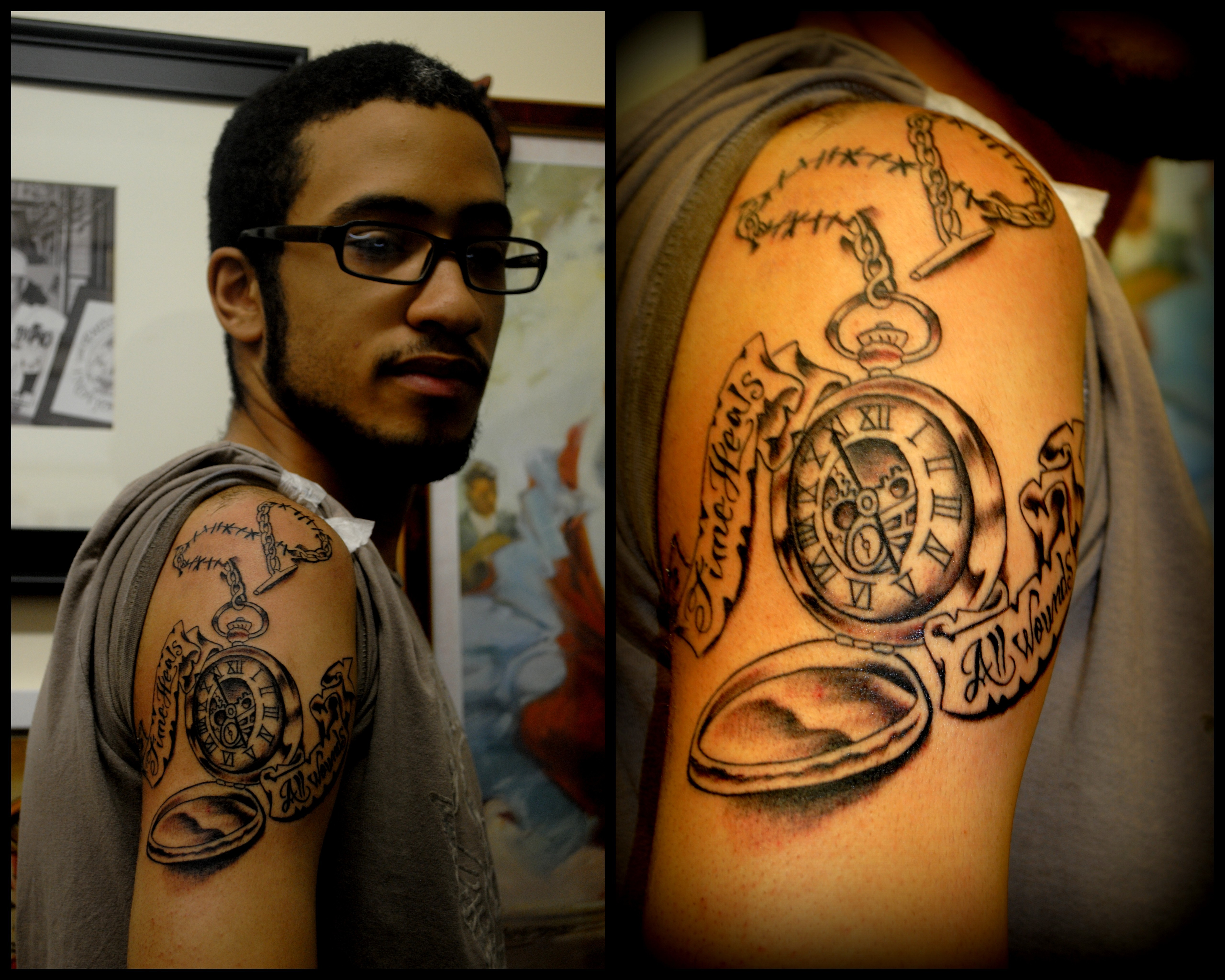 Pocket Watch by Powder Tattoo  at The Re
