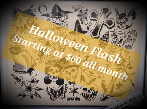 Red Parlour Tattoo and Piercing Halloween Flash Special 180 Main Street Butler NJ 07405.jp