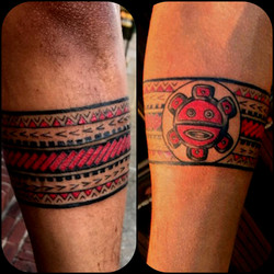 Taino Tattoo Armband by The Red Parlour