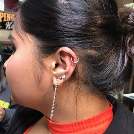 Helix Piercing in Queens NY The Red Parl