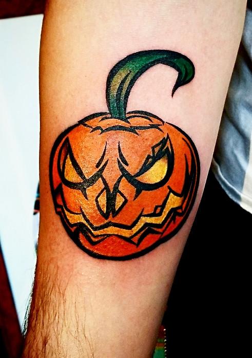 Pumpkin Tattoo The Red Parlour Tattoo Woodside Queens NY NY NYC Custom Tattoos.jpg