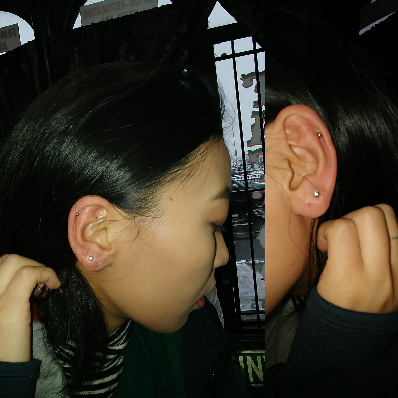 Ear Piercing by The Red Parlour Tattoo &