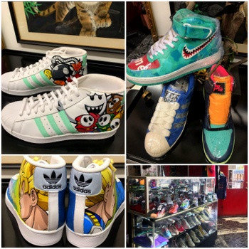 Cool Sneakers at The Red Parlour 6919 Qu