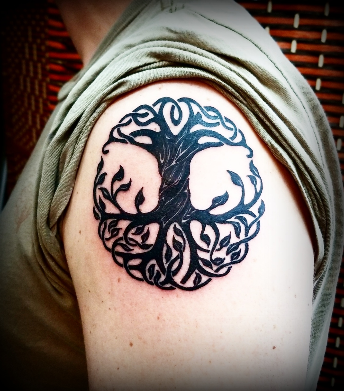 Celtic Tree of Life Tattoo by The Red  P