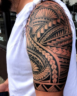 Polynesian Tattoos by The Red Parlour Ta