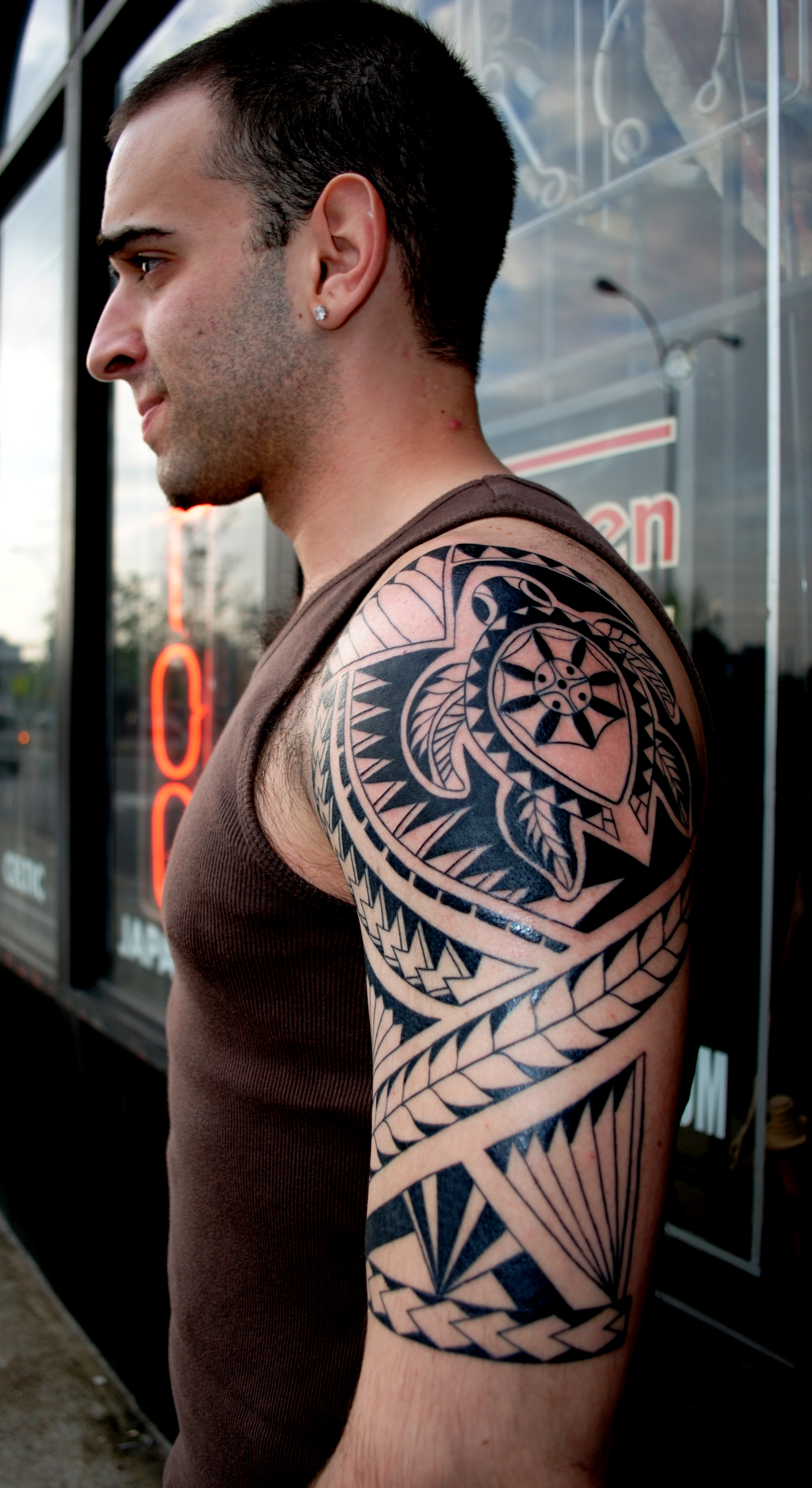 Polynesian And Tribal Tattoos