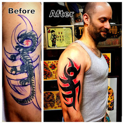 Tribal Tattoo Cover Up The Red Parlour T