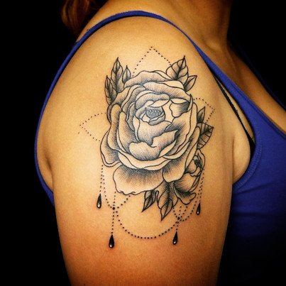 Lace Rose Tattoo The Red Parlour Tattoo