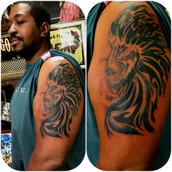 The Red Parlour Tattoo Lion Designs for