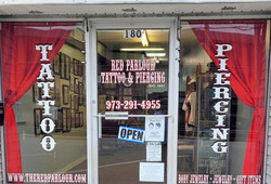 Tattoo & Body Piercing in New Jersey Red
