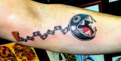 Chain Chomp Tattoo by The Red Parlour Ta