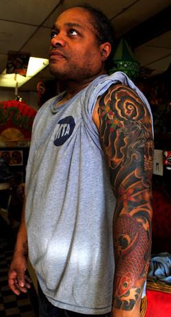 Japanese Sleeve Tattoo Cover Up Restorat