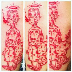 Lil Peeps Tattoo by The Red Parlour Tatt
