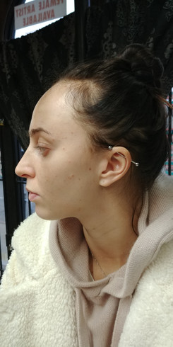Piercings by The Red Parlour Tattooand P