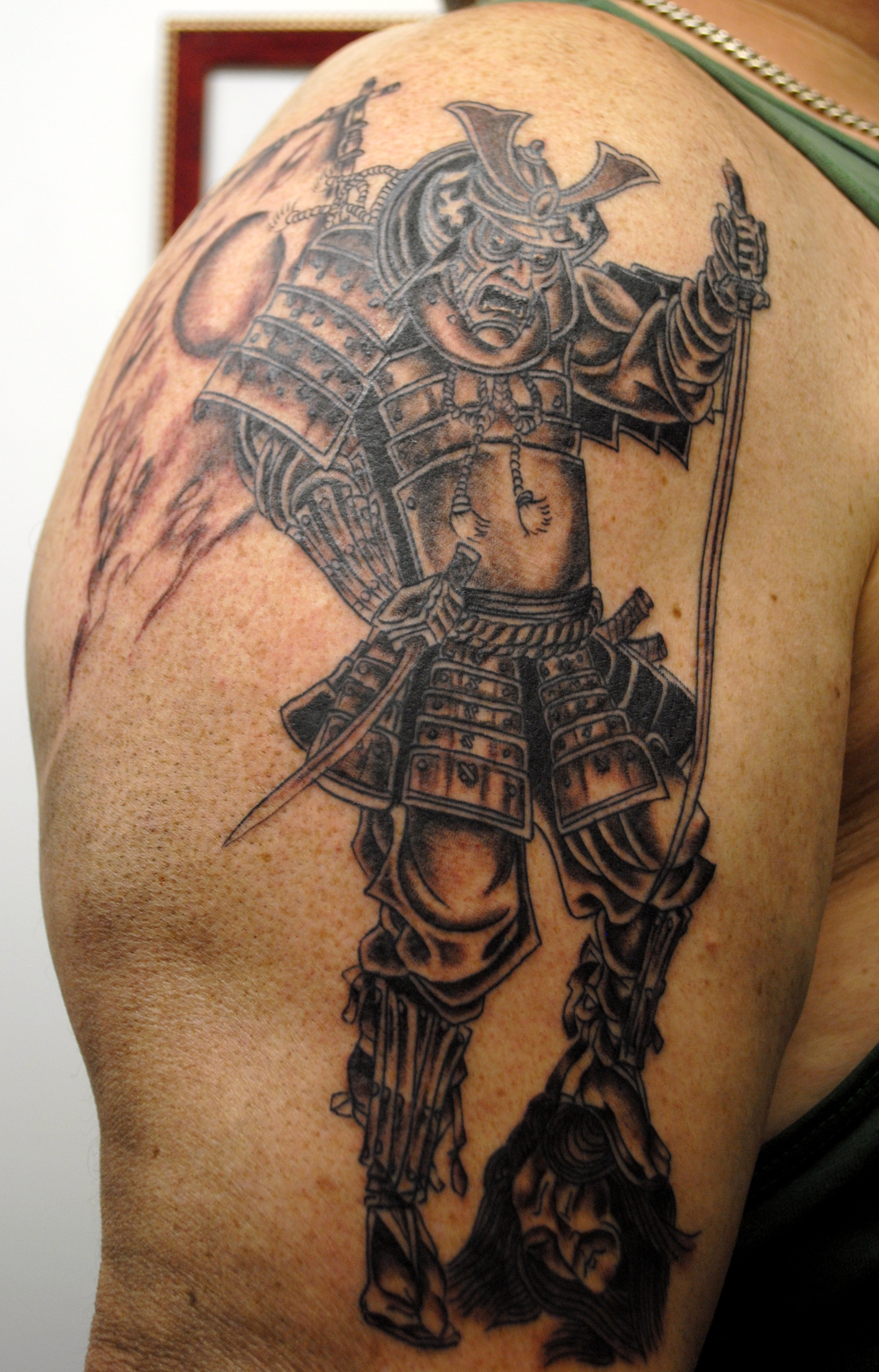 Samurai Tattoo by Powder at The Red Parl