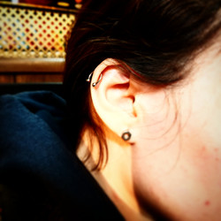 Helix Piercings by The Red Parlour Tatto