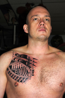 Polynesian Tattoo by The Red Parlour Tat
