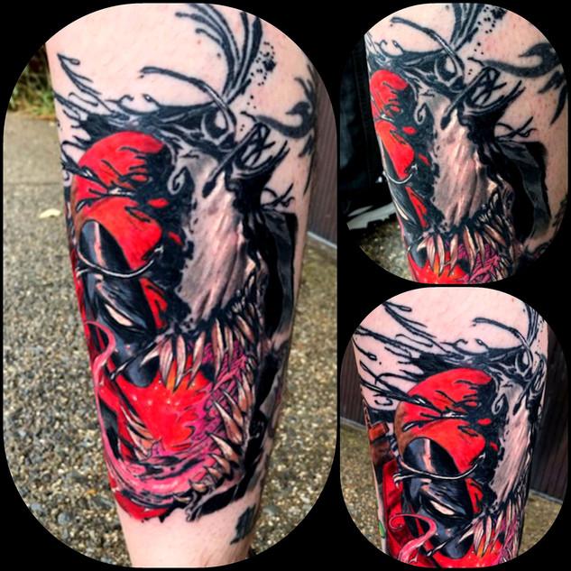 Venom the Tattoo by The Red Parlour Tatt