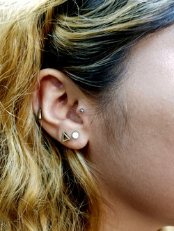 Tragus Piercing The Red Parlour