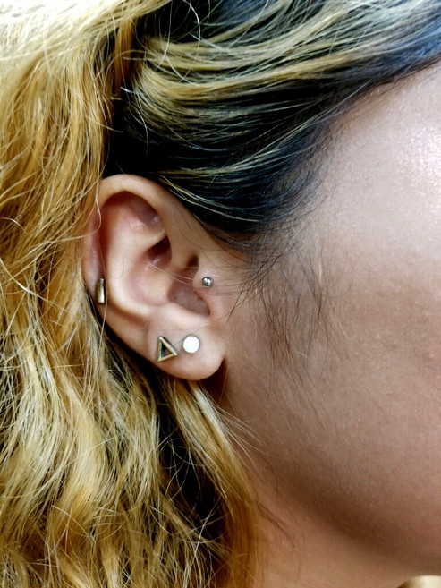Ragus Piercing by The Red Parlour Tattoo