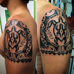 Taino Tattoos by The Red Parlour Tattoo