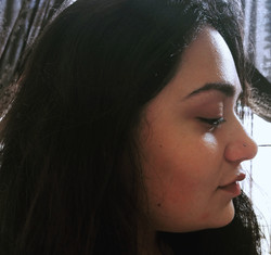 Nose Piercing with Small Stud by The Red