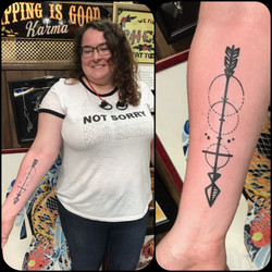 Arrow Tattoo Designs by The Red Parlour
