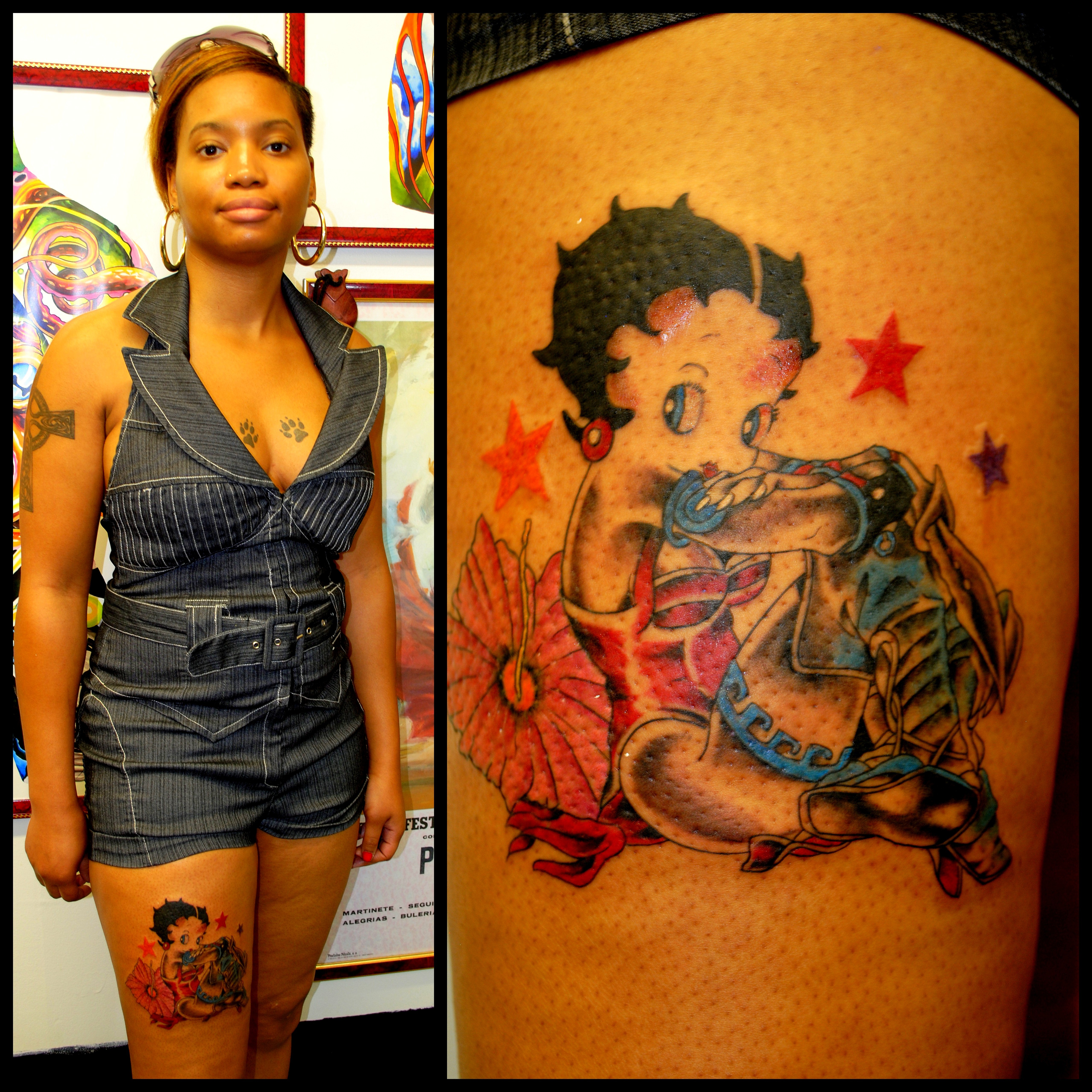 Betty Boop Tattoo by The Red Parlour Tat