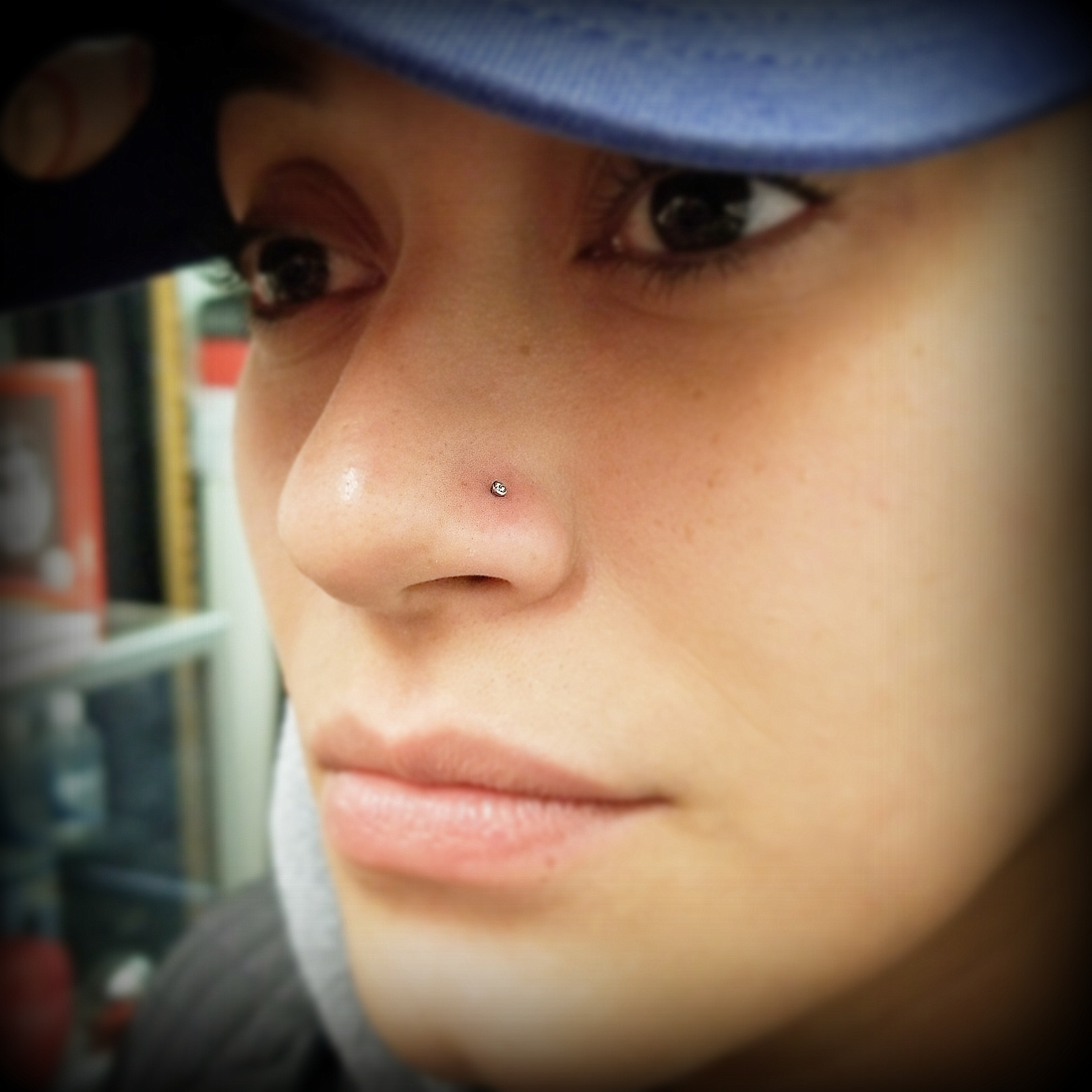 Nostril Piercings by The Red Parlour Tat