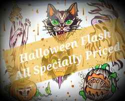 The Red Parlour  Halloween Flash Special 180 Main Street Butler NJ 07405