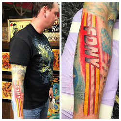 FDNY Tattoos by Powder The Red Parlour T
